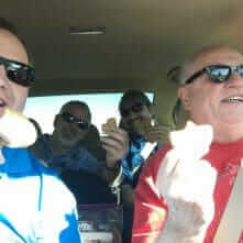 Decorators in Cars With Cookies