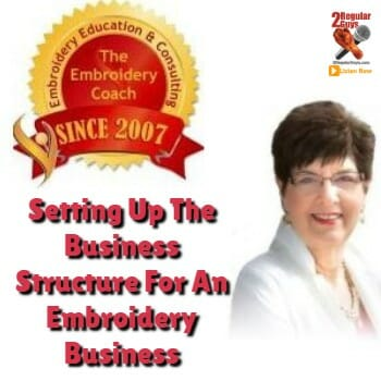 Embroidery Business Structure