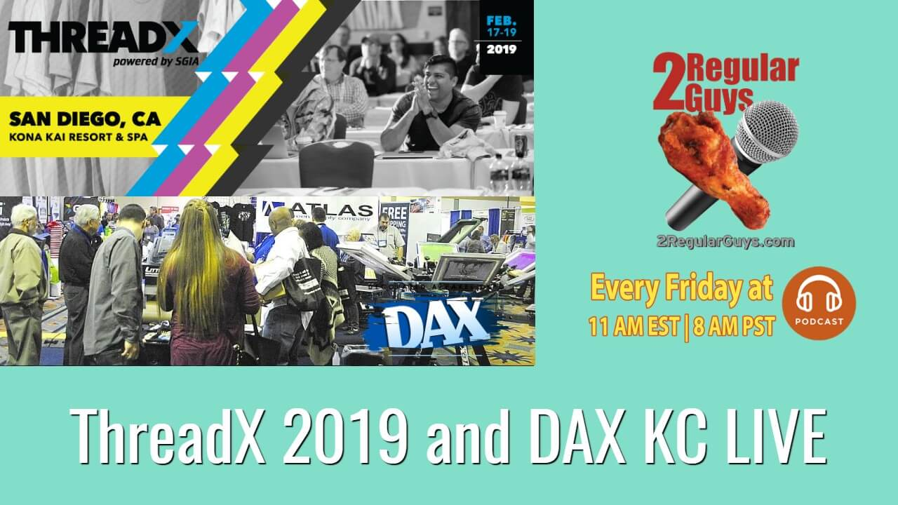 ThreadX 2019 and DAX KC LIVE