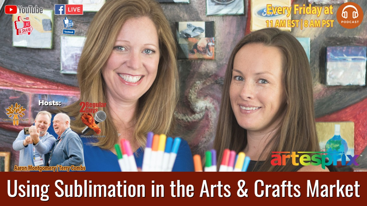 Using Sublimation in the Arts & Crafts Market