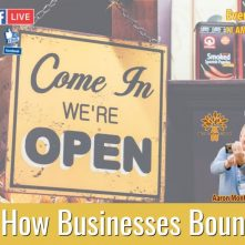 How Businesses Bounce Back