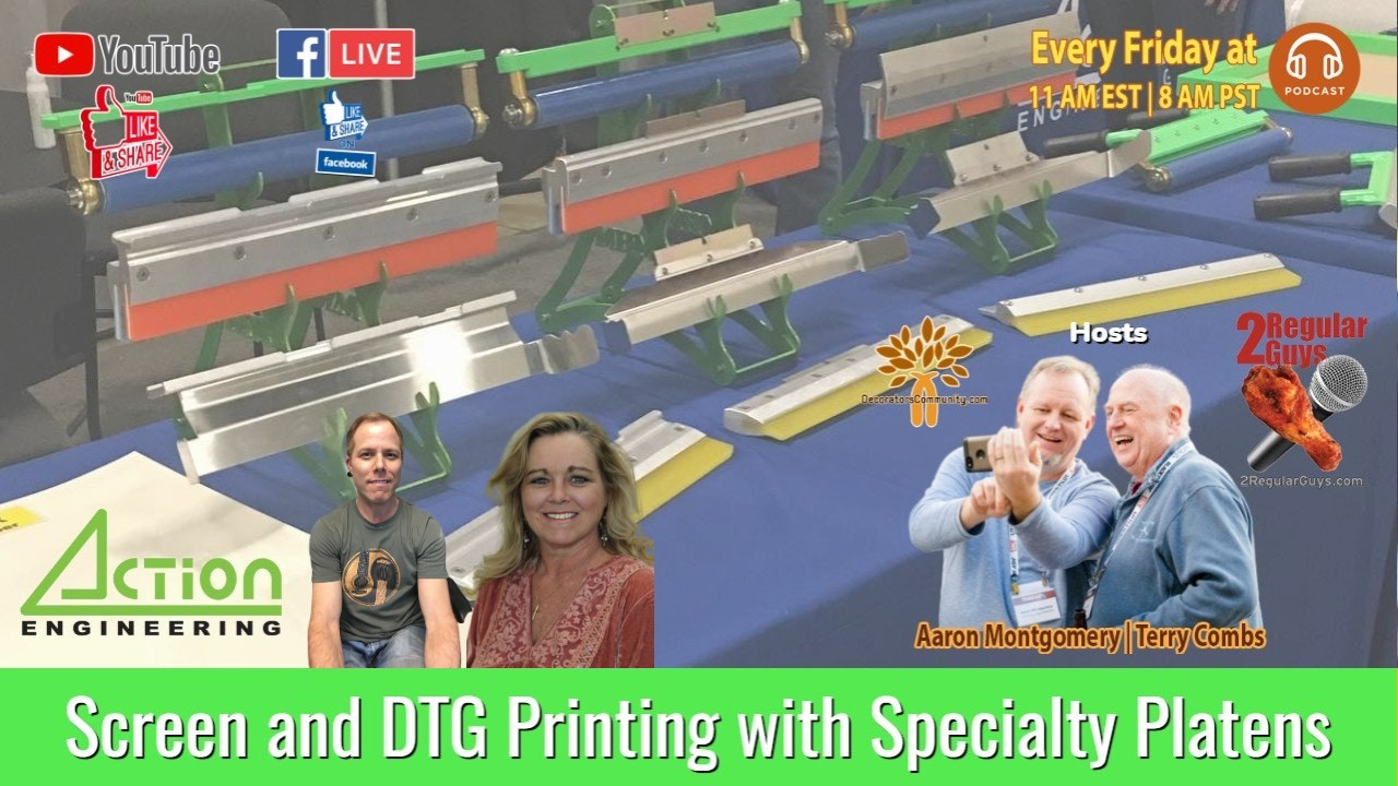 2RG Show Card Printing Attachments