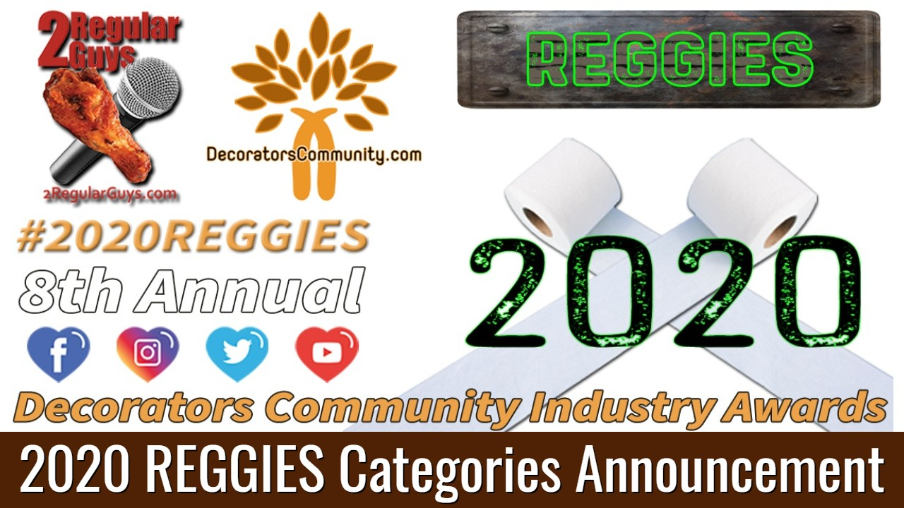 2RG Show Card 2020 Reggie Categories