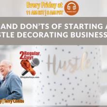2 Regular Guys Show Cover Starting Side Hustle