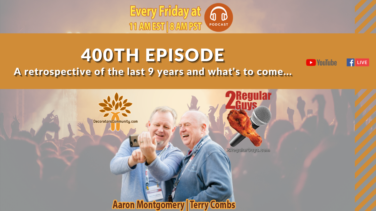 2 Regular Guys Show Cover 400th