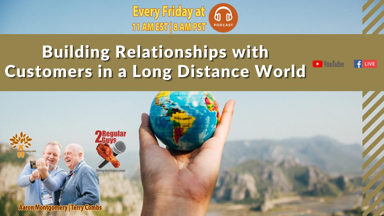 2 Regular Guys Show Cover Long Distance Relationships